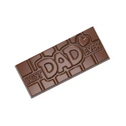 Chocoladevorm tablet Best Dad Ever