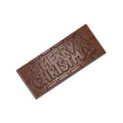 Chocoladevorm tablet Merry Christmas