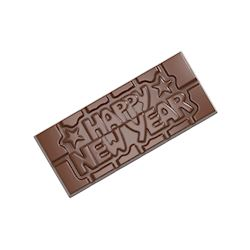 Chocoladevorm tablet Happy New Year
