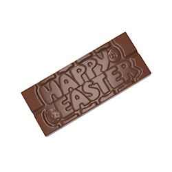 Chocoladevorm tablet Happy Easter