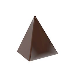 Chocoladevorm top of piramide