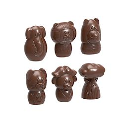"Chocoladevorm ""The big five"" 6 fig."