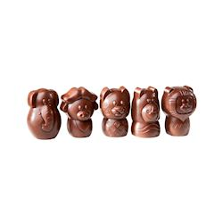 "Chocoladevorm ""The big five"" klein 5 fig."