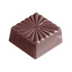 Chocoladevorm french carre