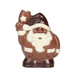 Chocoladevorm spherical santa 120mm 1x1