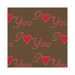 Transferts voor magneetvorm 135 x 275 mm i love you red